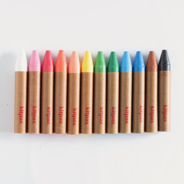 Crayon Markers - Large (Set of 12)