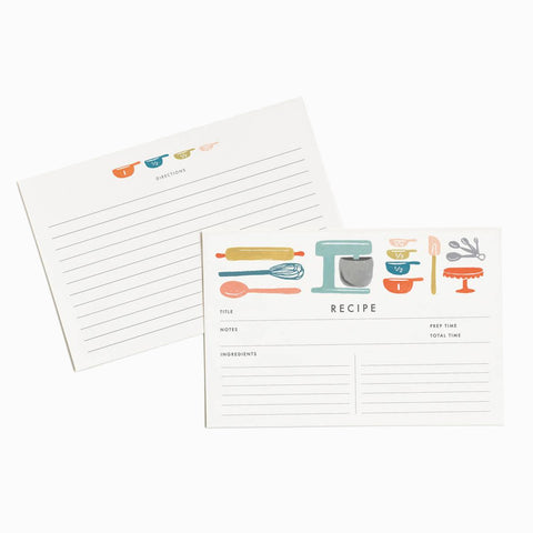 Rifle Paper Co. Recipe Cards/Refill Baker's