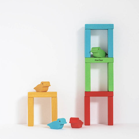 Plan Toys Wooden Bird Tower