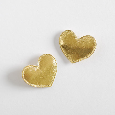 Hello Shiso Big Heart Hair Clips