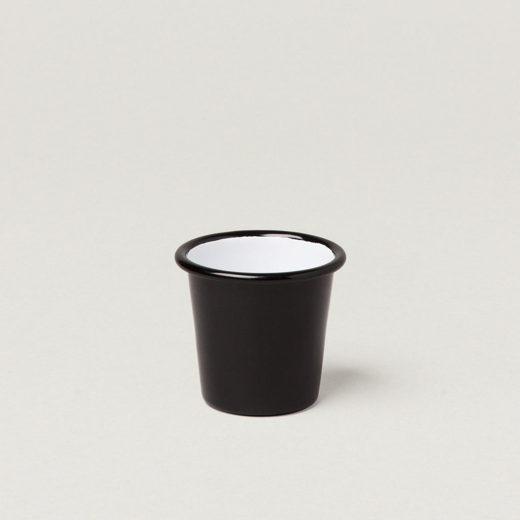 Falcon Enamel Tumbler Mini 124 ml Black