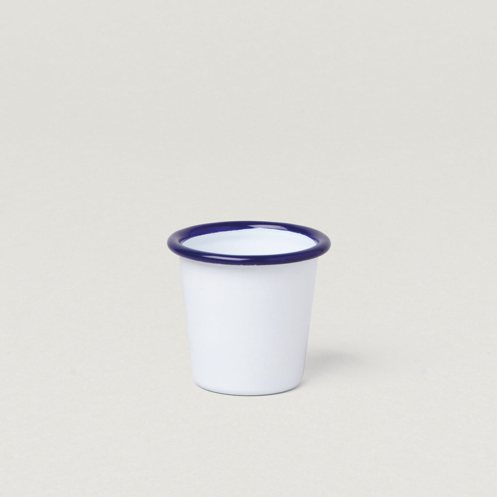Falcon Enamel Tumbler Mini 124 ml White