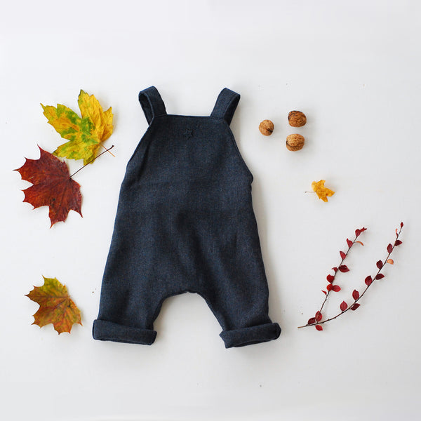 Flanel Baby Overall