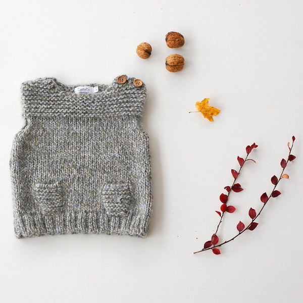 Knitted Baby Vest