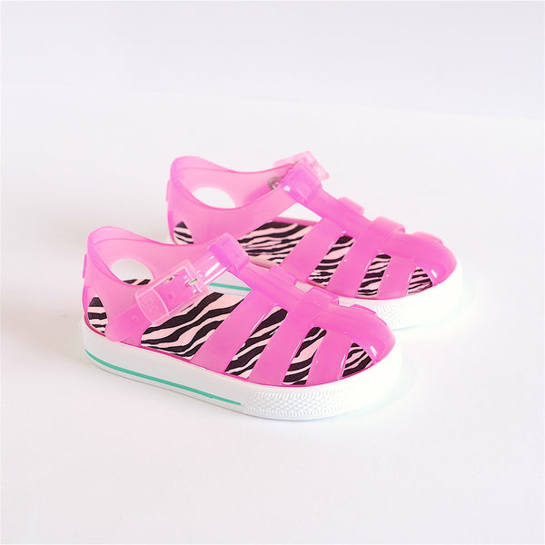 Igor Jelly Shoes Translucent Pink