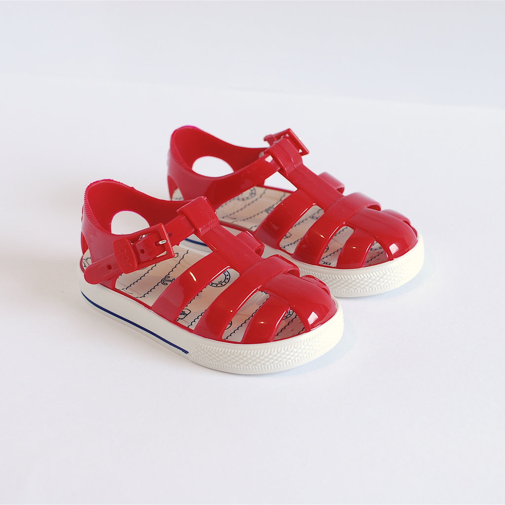 Igor Jelly Shoes Red