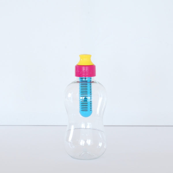 Water Bobble Kids Filter Water Bottle Pink