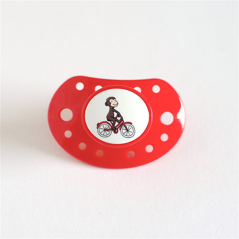 Esska Pacifier Red Monkey