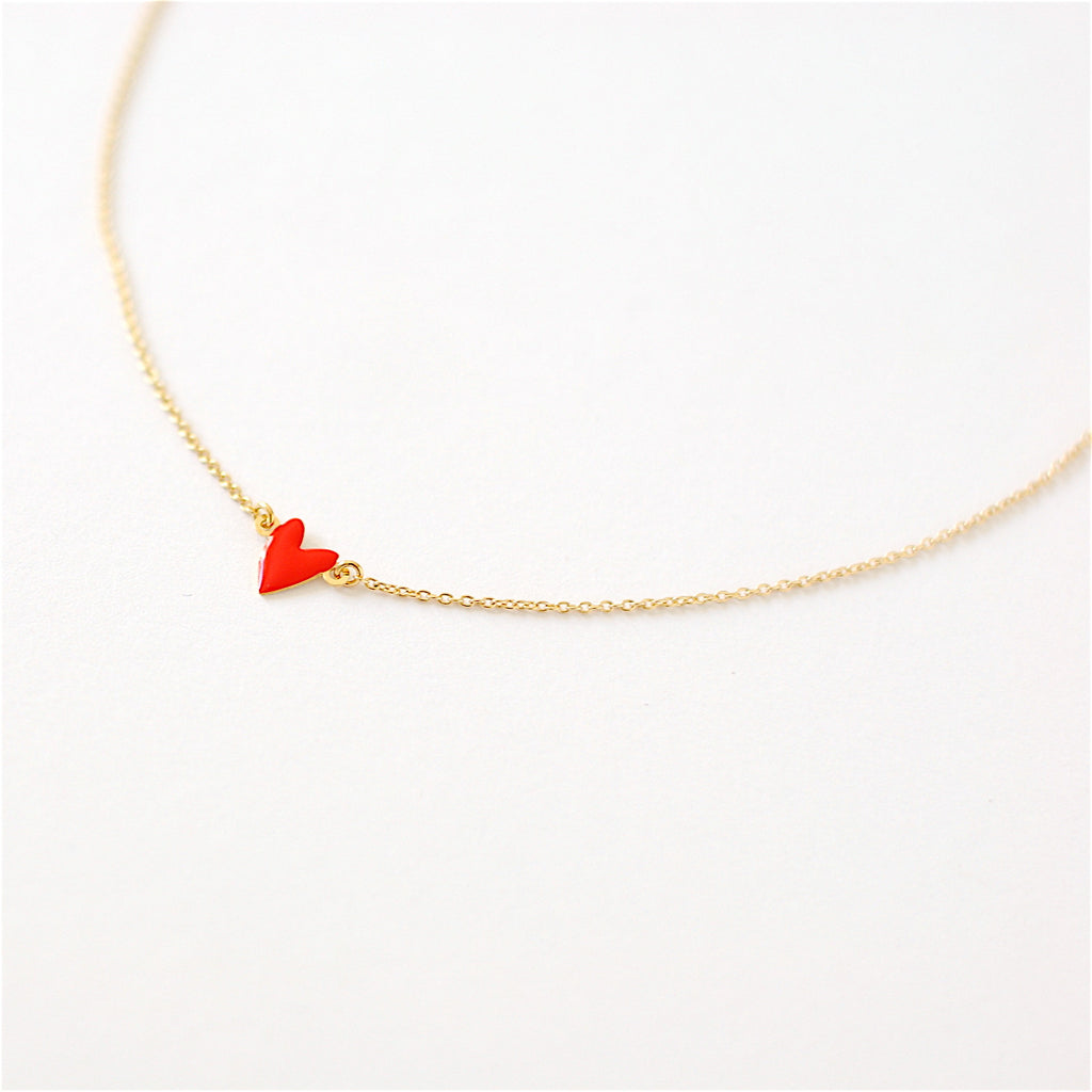 Titlee Cranberry Necklace Red