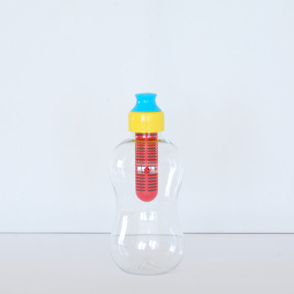 Water Bobble Kids Filter Water Bottle Yellow