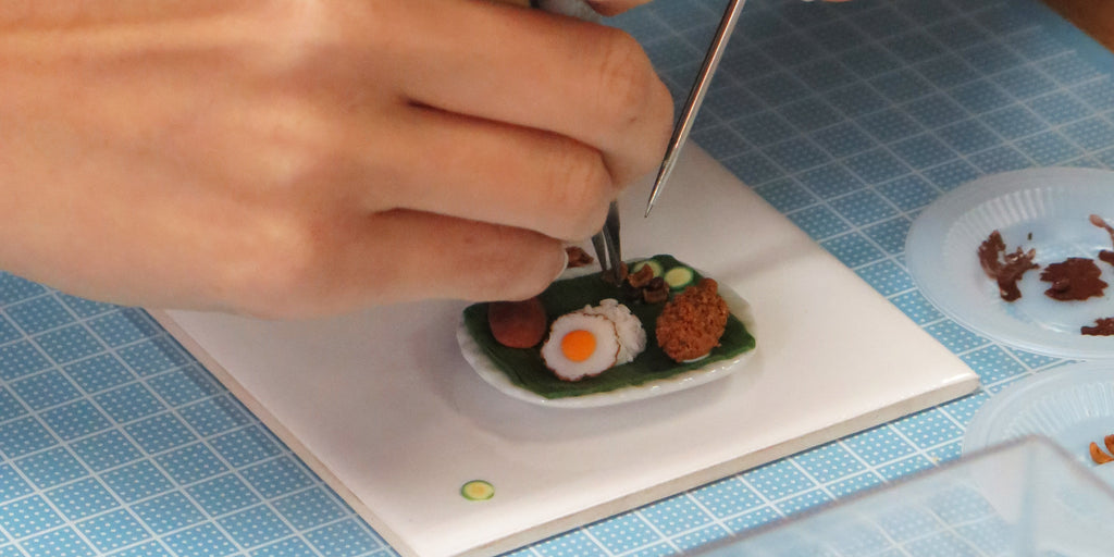 Miniature Asian Chef Workshop