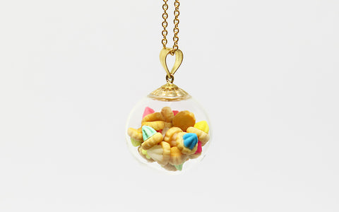 Ice Gem Globe Necklace by Miniature Asian Chef