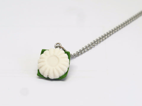 Miniature Asian Chef Kueh Tu Tu Necklace