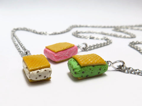 Ice Cream Wafer Necklace