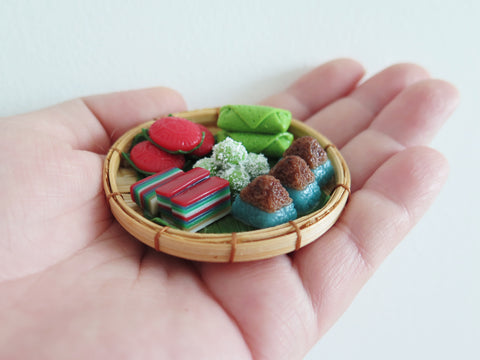 In Stock! Miniature Peranakan Kueh Basket