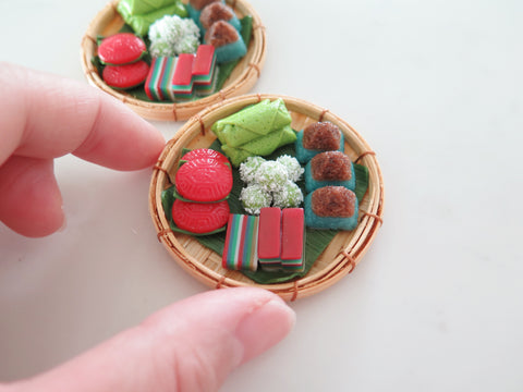 Miniature Kueh Basket