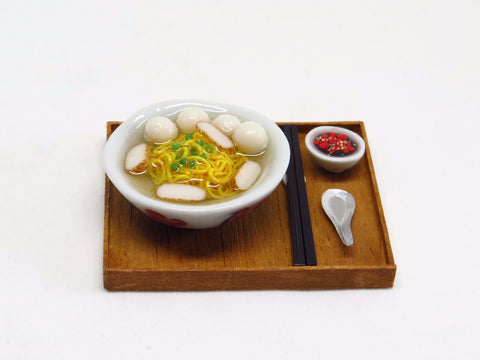 Miniature Fishball Soup Noodles Set