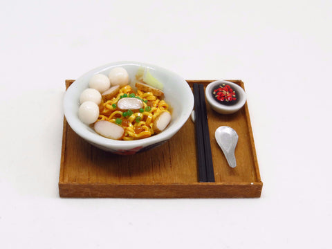 Miniature Fishball Noodles by Miniature Asian Chef