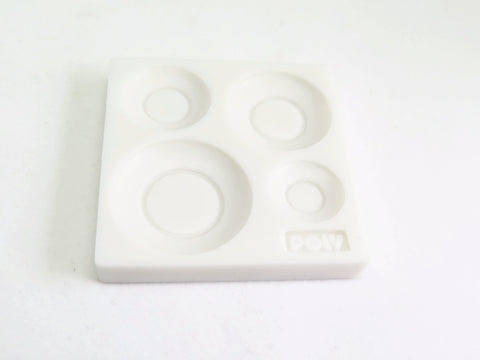 Push Mold for 1:12 scale Round Plates
