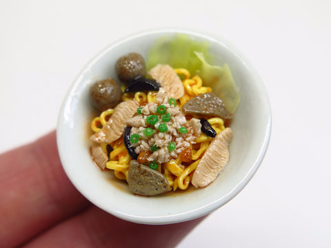 Singapore Miniature Food - Bak Chor Mee