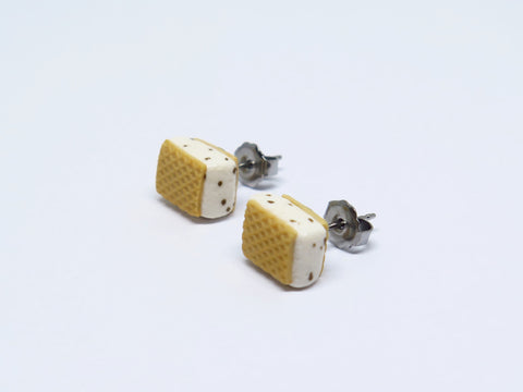 Ice Cream Wafer Ear Studs