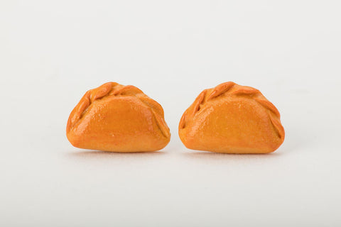 Curry Puff Ear Studs