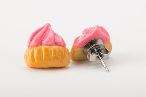 Iced Gem Ear Studs (Assorted Colours)
