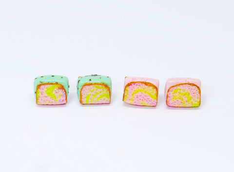 Ice Cream Sandwich Ear Studs