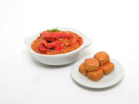 Miniature Chilli Crab with Man Tou Set