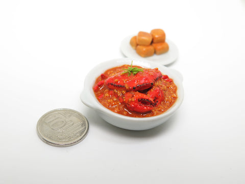 Miniature Singapore Chilli Crab
