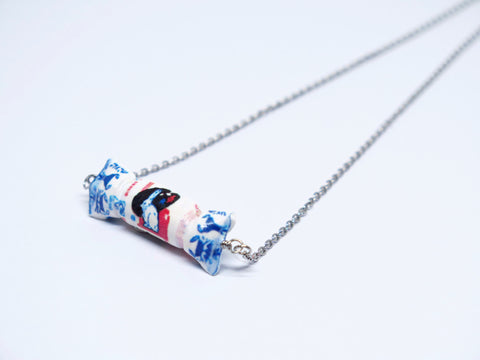 White Rabbit Candy Necklace
