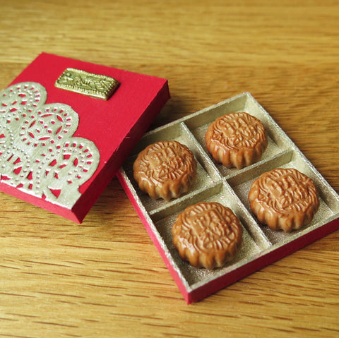 In Stock! Miniature Mooncakes Set