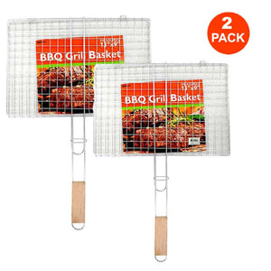 FlashSpree.com: 2-Pack Barbecue Grill Basket by FlashSpree