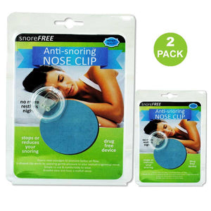 FlashSpree.com: 2 Pack Anti Snoring Nose Clip by FlashSpree