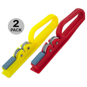 FlashSpree.com: 2-Pack Knife Sharpener With Hand Grip by Handy Helpers