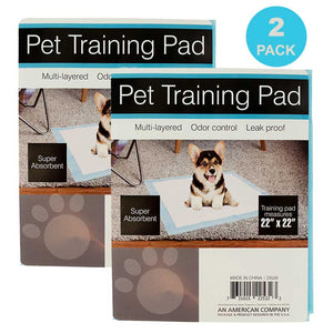 FlashSpree.com: 2-Pack Odor Control Pet Training Pad by Dukes