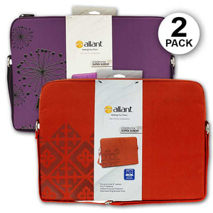 FlashSpree.com: 2-Pack Padded Laptop Super Sleeve with Shoulder Strap by Allant