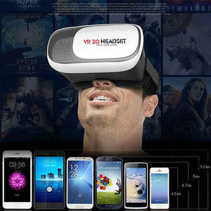 FlashSpree.com: 3D Virtual Reality Glasses Headset with Remote by LAX-MAX