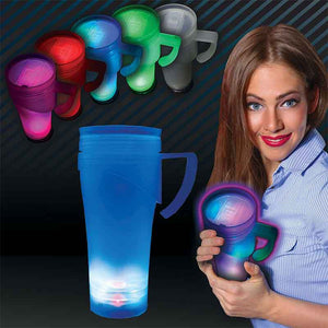 FlashSpree.com: 7 Color Light-Up Mug & Flashlight by Handy Helpers