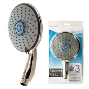 FlashSpree.com: Oversize Shower Head With 3 Settings by FlashSpree
