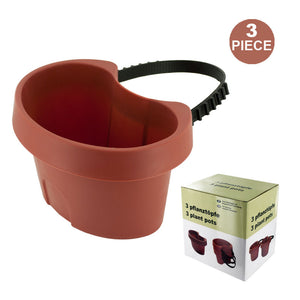 FlashSpree.com: Tie On Pipe Flower Pots Set (3 Piece) by GardenDepot