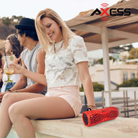 FlashSpree.com: Axess Portable Water-Resistant Bluetooth Speaker with Speakerphone by Axess USA