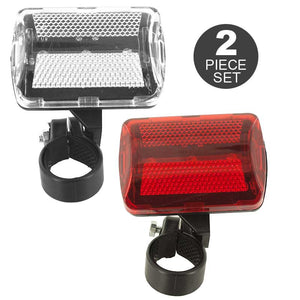FlashSpree.com: 2-Piece Bicycle LED Lights Set by FlashSpree