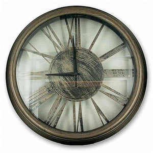 FlashSpree.com: Bronze Roman Numeral Wall Clock by Handy Helpers