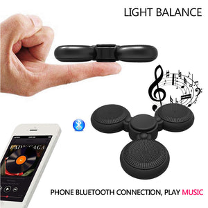 Cool Gyro LED Bluetooth Wireless Speaker Fidget Spinner