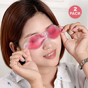 FlashSpree.com: 2-Pack Cooling Gel Eye Mask by Spa Essentials