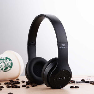 FlashSpree.com: Foldable Wireless P47 Bluetooth 4.1 Hands Free Headphones by FlashSpree