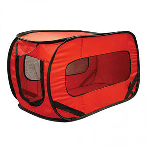 FlashSpree.com: Folding Pet Travel Carrier Crate by Handy Helpers