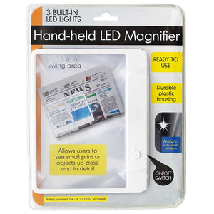 FlashSpree.com: Hand-held LED Magnifier by FlashSpree