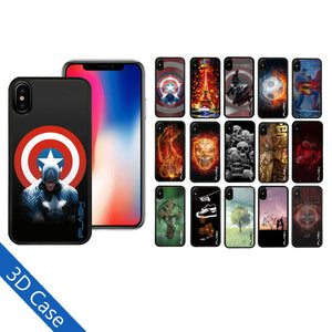 iFlash USA iPhone X Stereo 3D Wiggle Designs Phone Cases Exclusive